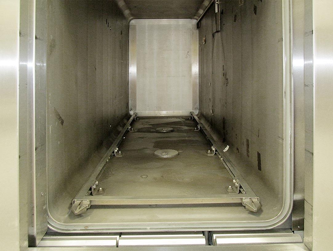 Grundreinigung 18 STE – Dampfsterilisator